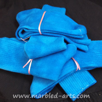 Bamboo Socks Cerulean