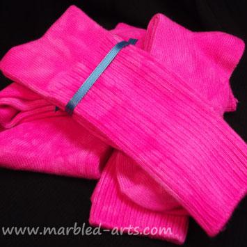 Bamboo Socks Hot Pink