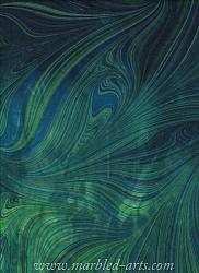 Marbled Blue Green Freestyle