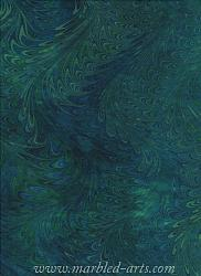Marbled Blue Green Waved Icarus