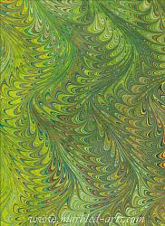 Marbled Chartreuse Waved Icarus