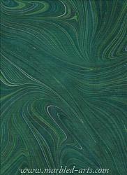 Marbled Dark Green