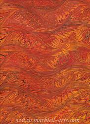 Marbled Fire Feathers