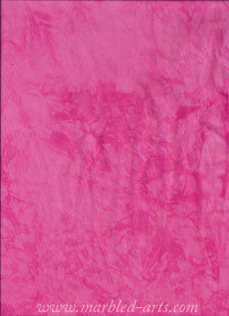 Hand Dyed Hot Pink