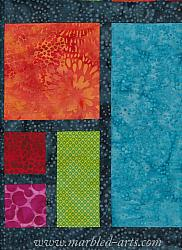 Jeweled Pavers Quilt Kit