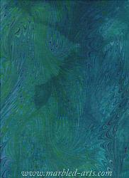 Marbled Light Blue Green Dragon Wings