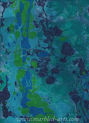Marbled Light Blue Green River Rocks