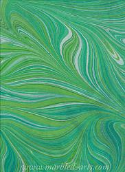 Marbled Light Green