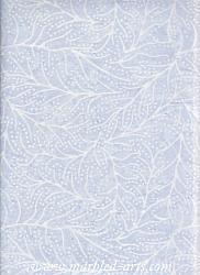 Light Lavender Leaves Batik