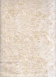 Light Natural Ferns Batik