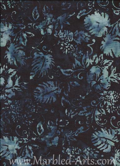 Midnight Palms Batik