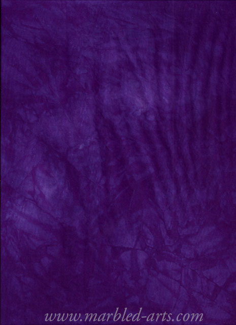 Hand Dyed Pansy Purple