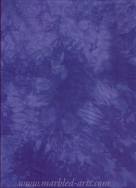 Hand Dyed Pansy Purple Medium