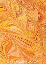 Marbled Sun in Freestyle Design