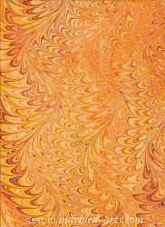 Marbled Sun in Waved Icarus Design