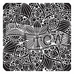 Doodle Bloom Stencil
